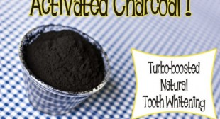 Dazzle! Whiten Your Teeth With Activated Charcoal | Crunchy Betty